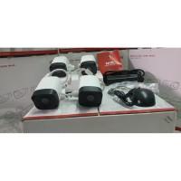 PAKET 4 IP CAM CCTV UNIVIEW NVR KIT POE 4CH 4 KAMERA 2MP 1080P OUTDOOR