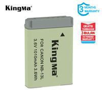 Baterai KINGMA for Canon NB-13L