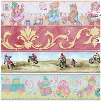 Wallpaper Border Wallborder List Sticker (10cmX10m) Motif 29303132