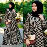 Dress Batik / Gamis Batik Bolero / Gamis Modern / Dress Batik Wanita
