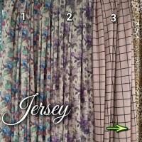 kain jersey motif strech B