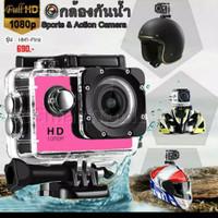 Action Cam Kogan 4K 18Mp 1080p Full Hd Non Wifi Lensa Cembung