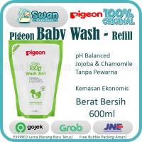 Pigeon Baby Wash Chamomile 600Ml Refill