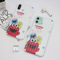 Case Karakter Xiaomi Redmi Note 5A 7 8 9 9A TPU Elmo Monster 3D Casing