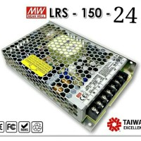 LED DRIVER MEAN WELL LRS-150-24 / POWER SUPPLY LED MEANWELL LRS-150-24