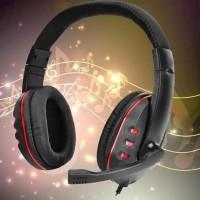 Headphone GAMING P-1306 with mic / headset gaming P-1306