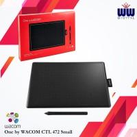 Pen Tablet One by Wacom CTL 472 Small Drawing Tablet Garansi Resmi