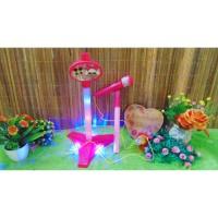 HD-8832 Mainan Edukasi Edukatif Anak LOL microphone Bisa Nyala Seperti