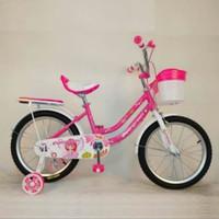 sepeda anak mini 16 evergreen daisy