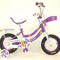 sepeda anak mini 12 evergreen daisy