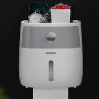 ECOCO KOTAK TISU TOILET WATERPROOF - TEMPAT TISU WC BOX