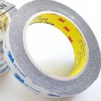 Double tape 3m Original 2cm x 4.5M Foam Putih