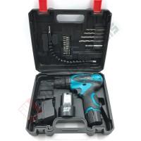 BOKY Cordless Drill Set 12V - Mesin Bor Baterai Charger Besi Kayu