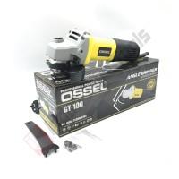 OSSEL GT-100 Mesin Gerinda Tangan 4 Inch SLIM - Disc Grinder Angle