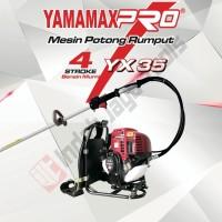 YAMAMAX PRO YX 35 Mesin Potong Rumput 4 Tak Brush Cutter Bensin Murni