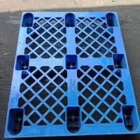 pallet plastik bekas tipe kaki 100x120x14cm