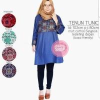 Tenun Tunik / Hem Batik / Kemeja Batik / Batik Wanita / Batik Murah