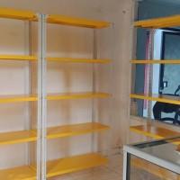 Rak gudang uk 60x100x200 - Kuning