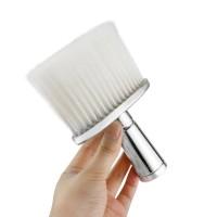 Kuas Barber Nylon Gagang Silver