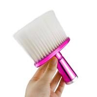 Kuas Barber Nylon Gagang Pink
