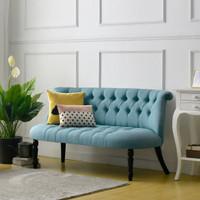Sofa-Sofa Ruang Tamu-Sofa Minimalis-Jessie-Livien Furniture-Sofa Murah - Biru Muda