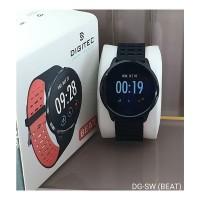 Jam Tangan Digitec Smartwatch Beat Red Original Murah
