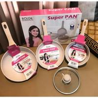 Promo hari ini aja - SUPER PAN BOLDe Beige Set - PANCI GRANITE CERA