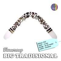 Mainan Bumerang Boomerang BIG TRADISIONAL Outdoor Long Range Sport Fun