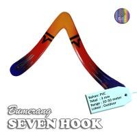 Mainan Bumerang Boomerang SEVEN HOOK Outdoor Long Range Sport Fun