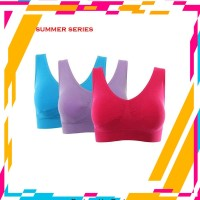 Promo -- GENIE BRA 1 BOX ISI 3 PCS-SUMMER SERIES
