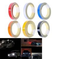 Tape Reflektif Ukuran 1CMx5M untuk Dekorasi Mobil / Motor