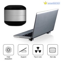 Laptop Stand Magnet Portable Cooling Pad For MacBook Cool Ball Heat
