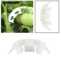 Faid 50pcs Klip Plastik Penyangga Buah Untuk Tipe Gantung Kebun