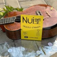 Senar Ukulele Nui Ukulele Strings Clear Carbon T for Tenor