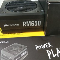 Corsair PSU Modular RM650 80 plus Gold 650 watt bkn seasonic