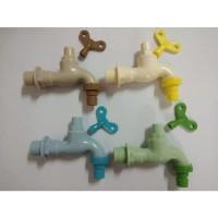 FIT KRAN AIR PVC TAMAN 1/2 INCH KERAN TAMAN MODEL CABUT KUNCI TERMURAH