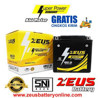 Aki Motor Vega + Jupiter MX (lama) + Jupiter Z (lama) + ZEUS GM5Z 3B