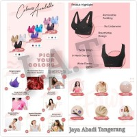 Terpopuler Genie Bra Classic / Made In Japan ( 1 Box Isi 3 Set/Pcs ) -