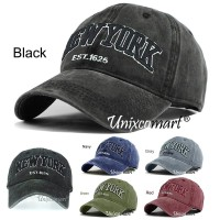 New York EST 1625 Topi Baseball Hat Cap Casual Sport Distro