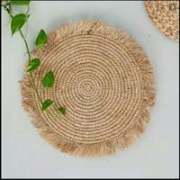 placemat rumbai diameter 35 cm