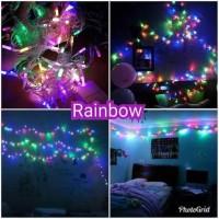 lampu tumblr / lampu hias rainbow murah 10 meter ada sambungannya