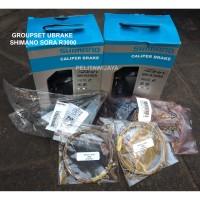 Groupset Ubrake Shimano Sora R3000 Gust Troy Sepeda Lipat Bukan Tiagra
