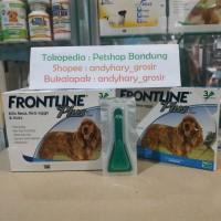 Obat Kutu Anjing Frontline Plus M 10-20kg (per pipet, 1dus x3)