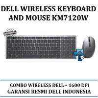 Dell Wireless Keyboard And Mouse KM-7120W - Original Product