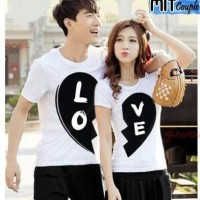 Baju Couple Black Love