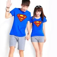 Baju Couple New Superman