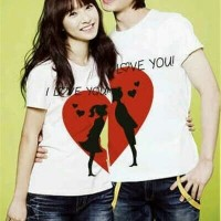 Baju Couple Moon Love