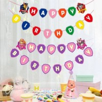 Bunting Flag / Banner Happy Birthday HBD Paw Patrol
