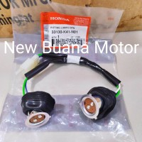 Fiting Lampu Depan New Supra X125 Fi