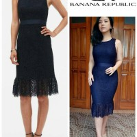 BNN Republic lace sheath dress